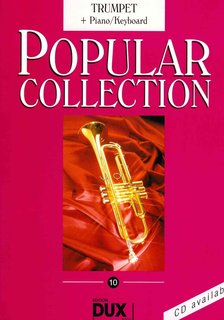 Popular Collection 10 - Trompete und Klavier (Keyboard)