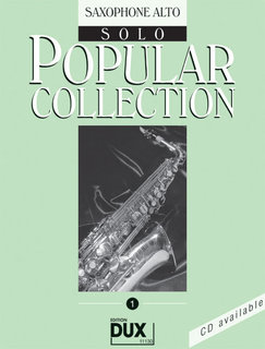 Popular Collection Band 1 für Alt-Sax Solo