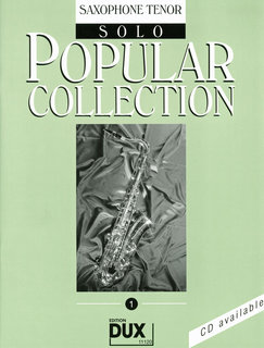 Popular Collection Band 1 für Tenor-Sax Solo