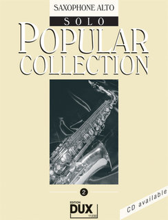 Popular Collection Band 2 für Alt-Sax Solo