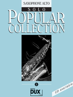 Popular Collection Band 3 für Alt-Sax Solo