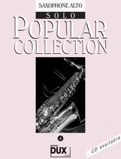 Popular Collection Band 4 für Alt-Sax Solo