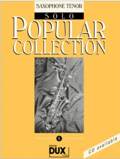 Popular Collection Band 5 für Tenor-Sax Solo