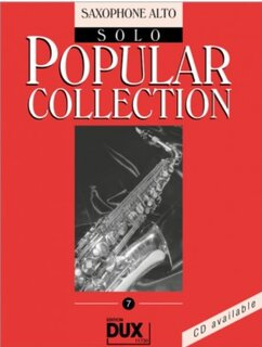 Popular Collection Band 7 für Alt-Sax Solo