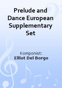 Prelude and Dance European Supplementary Set