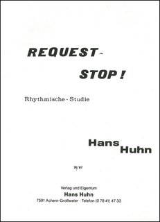 Request stop Rhythmische Studie in Swing