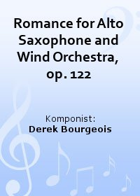 Romance for Alto Saxophone and Wind Orchestra, op. 122