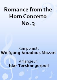Romance from the Horn Concerto No. 3