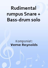 Rudimental rumpus Snare + Bass-drum solo
