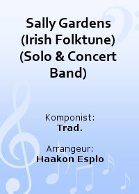 Sally Gardens (Irish Folktune) (Solo & Concert Band)