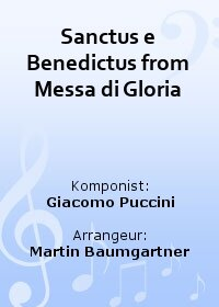 Sanctus e Benedictus from Messa di Gloria