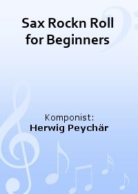 Sax Rockn Roll for Beginners