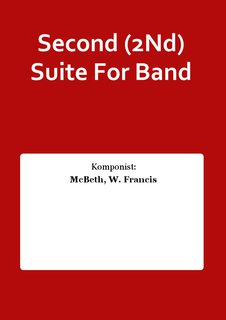 Second (2Nd) Suite For Band