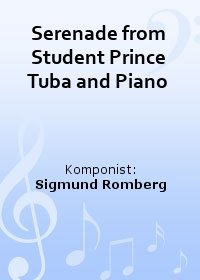 Serenade from Student Prince Tuba and Piano