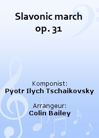 Slavonic march op. 31