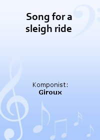 Song for a sleigh ride