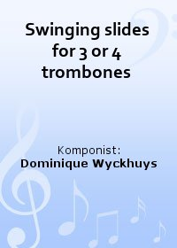 Swinging slides for 3 or 4 trombones