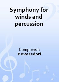 Symphony for winds and percussion