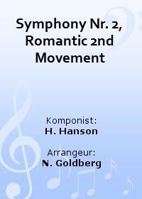 Symphony Nr. 2, Romantic 2nd Movement