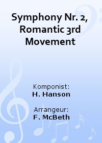 Symphony Nr. 2, Romantic 3rd Movement