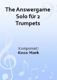 The Answergame Solo für 2 Trumpets