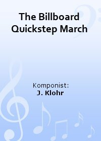 The Billboard Quickstep March
