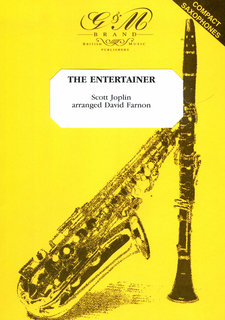 The Entertainer für 4 Saxophone