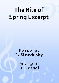 The Rite of Spring Excerpt