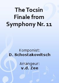 The Tocsin Finale from Symphony Nr. 11