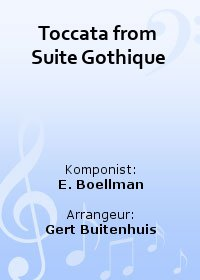 Toccata from Suite Gothique