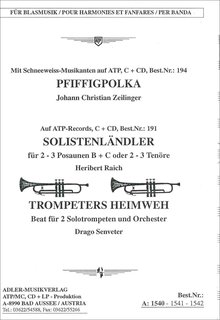 Trompeters Heimweh Solo f. Trompete