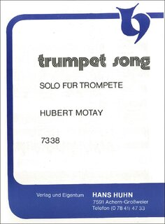 Trumpet Song Solo f. Trompete