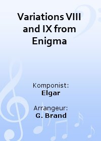 Variations VIII and IX from Enigma