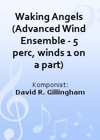 Waking Angels (Advanced Wind Ensemble - 5 perc, winds 1 on a part)