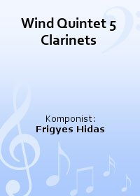 Wind Quintet 5 Clarinets