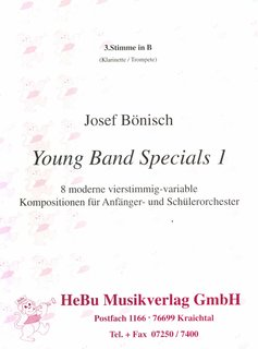 Young Band Specials 1 (3. Stimme in B Trompete/Klarinette)