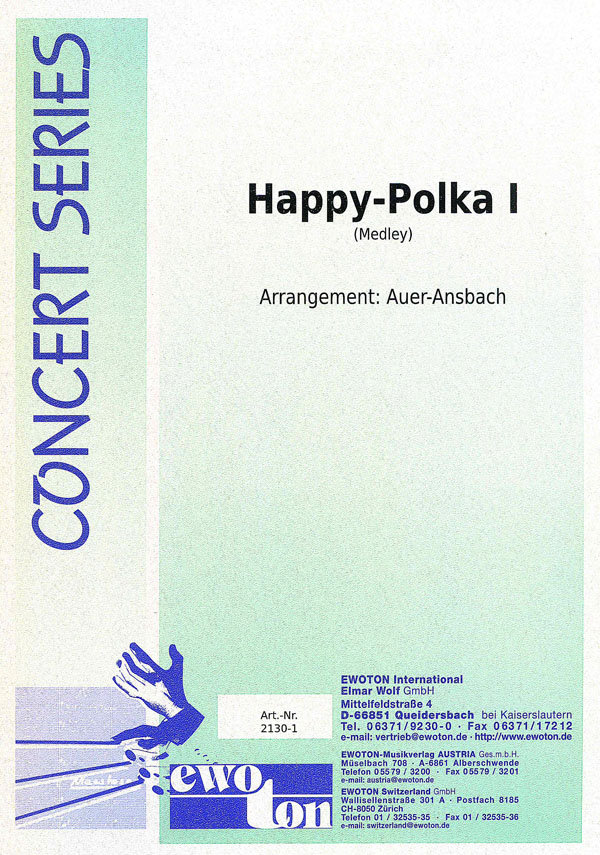 Happy Polka I (Medley)   Noten - Polkas   Arr. Hans Auer-Ansbach