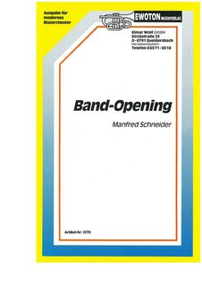 Band-Opening (Modernes Opening)
