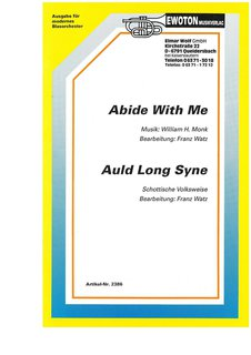 Abide with me / Auld long syne