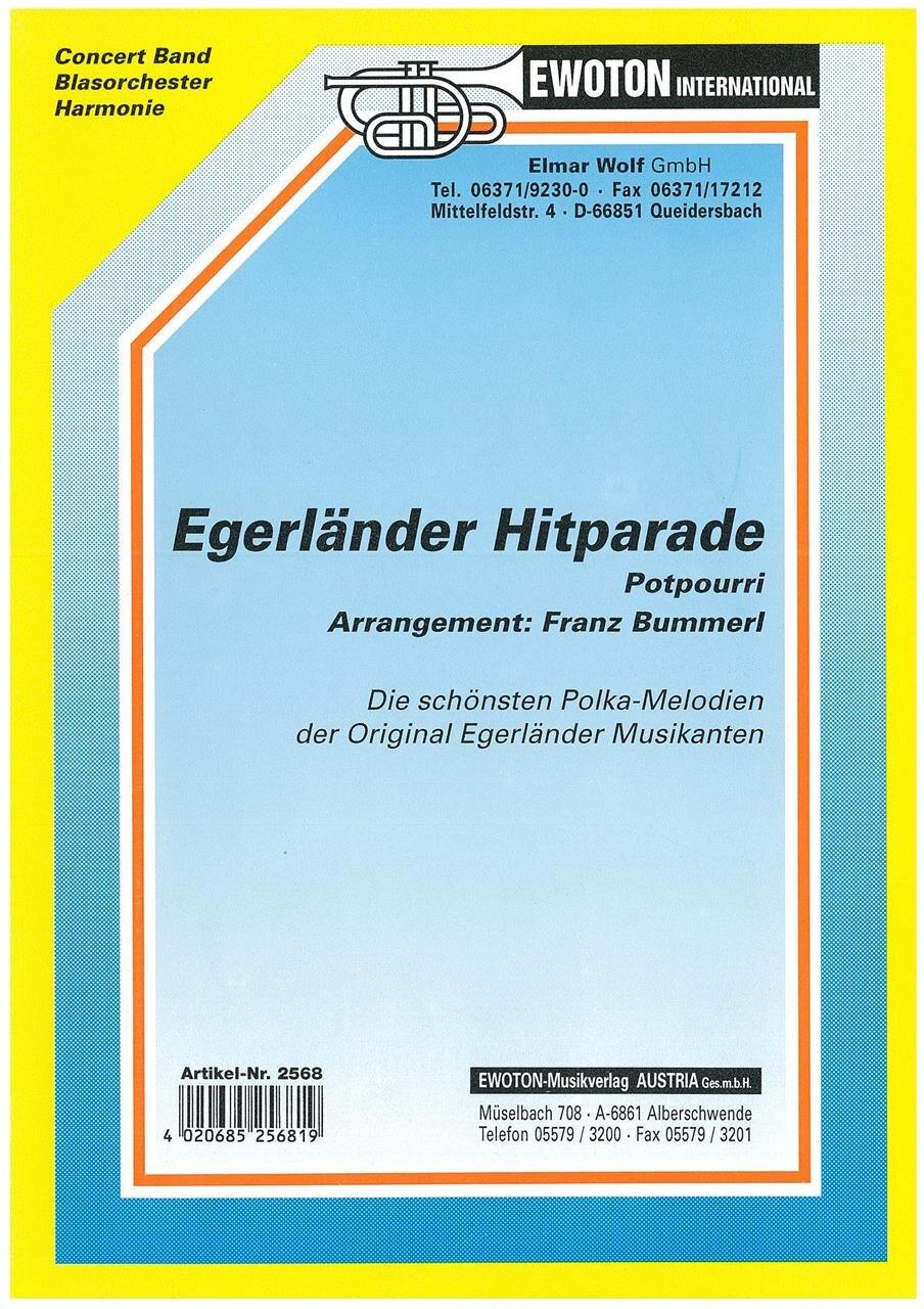 Foyer Des Arts Hitparade : Egerländer hitparade potpourri noten polkas