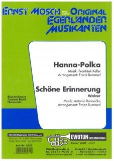 Hanna-Polka / Schöne Erinnerung (Walzer) | Noten - Walzer | Antonin ...