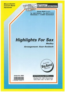 Highlights for Sax (Medley)