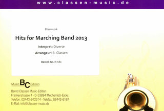 Hits for Marching Band 2013