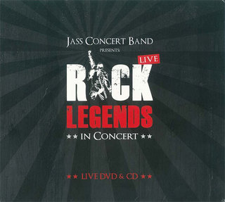 Jass Concert Band presents: Rock Legends in Concert (Live DVD & CD)