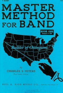 Master Method for Band - Bd. 1 Horn in F