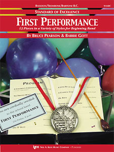 Standard of Excellence - First Performance (Partitur)