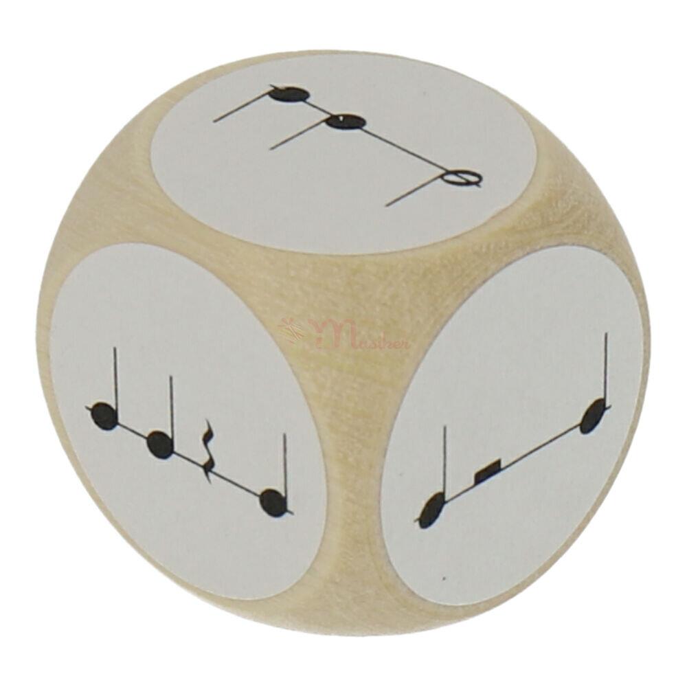 rhythmusw rfel mit viertelnoten und halbenoten geschenke. Black Bedroom Furniture Sets. Home Design Ideas