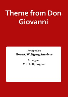 Theme from Don Giovanni