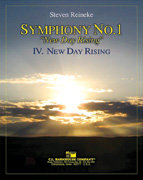 Symphony #1 - New Day Rising #4: New Day Rising - Set (Partitur und Stimmen)
