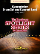 Concerto for Drum Set and Concert Band - Set (Partitur und Stimmen)